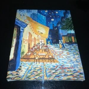 VanGogh Cafe Terrace at Night Oil Canvas